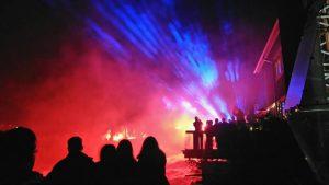 Tapahtumakalenteri tarjoaa syyskuussa Jyrkän Valoshown Ruukin Tuvalla